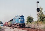 CSX 8727 at Rossville interlocking